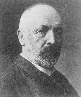 Georg Cantor - źródło Wikipedia.org