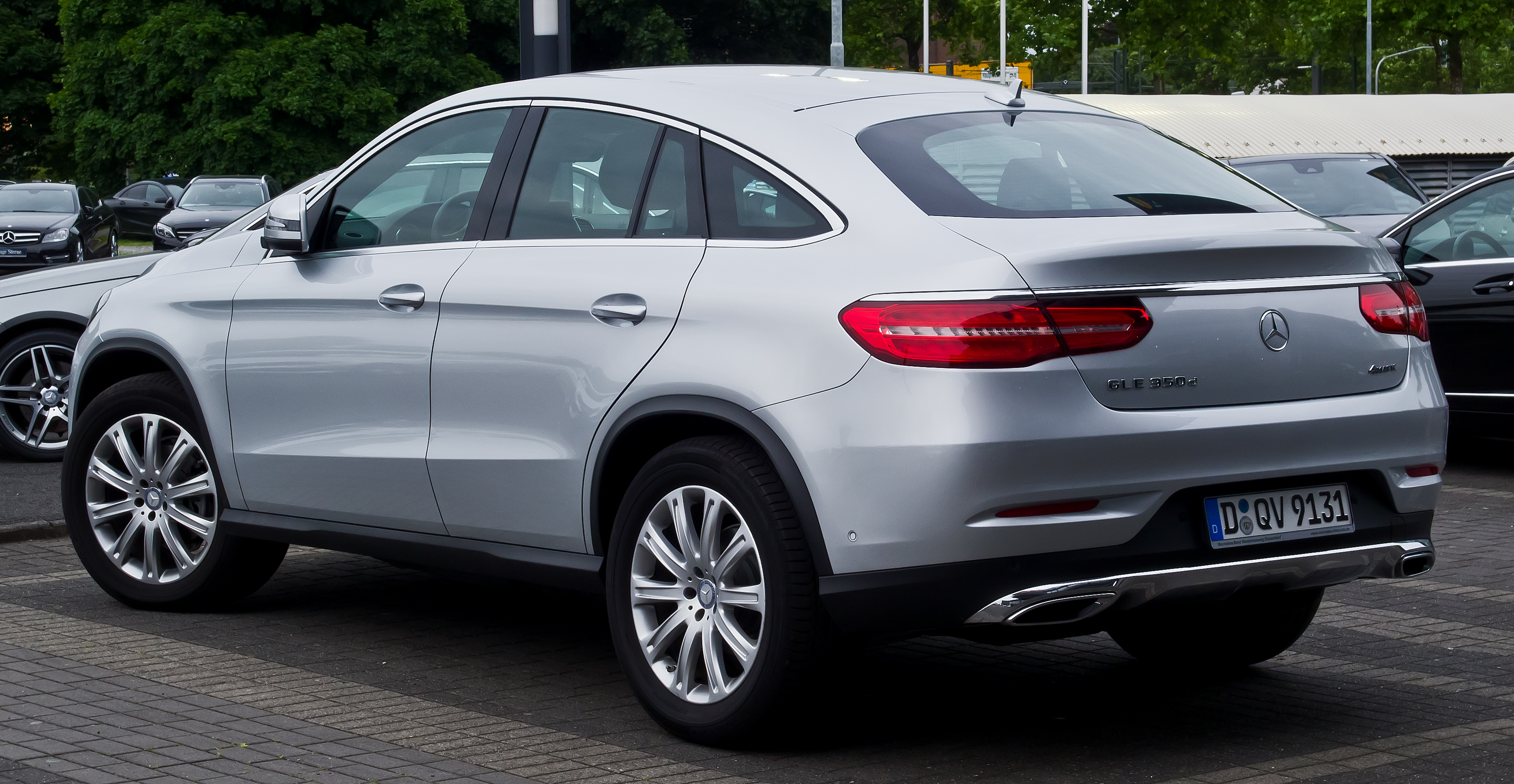 File:Mercedes-Benz GLE 350 d 4MATIC Coupé (C 292) – Heckansicht