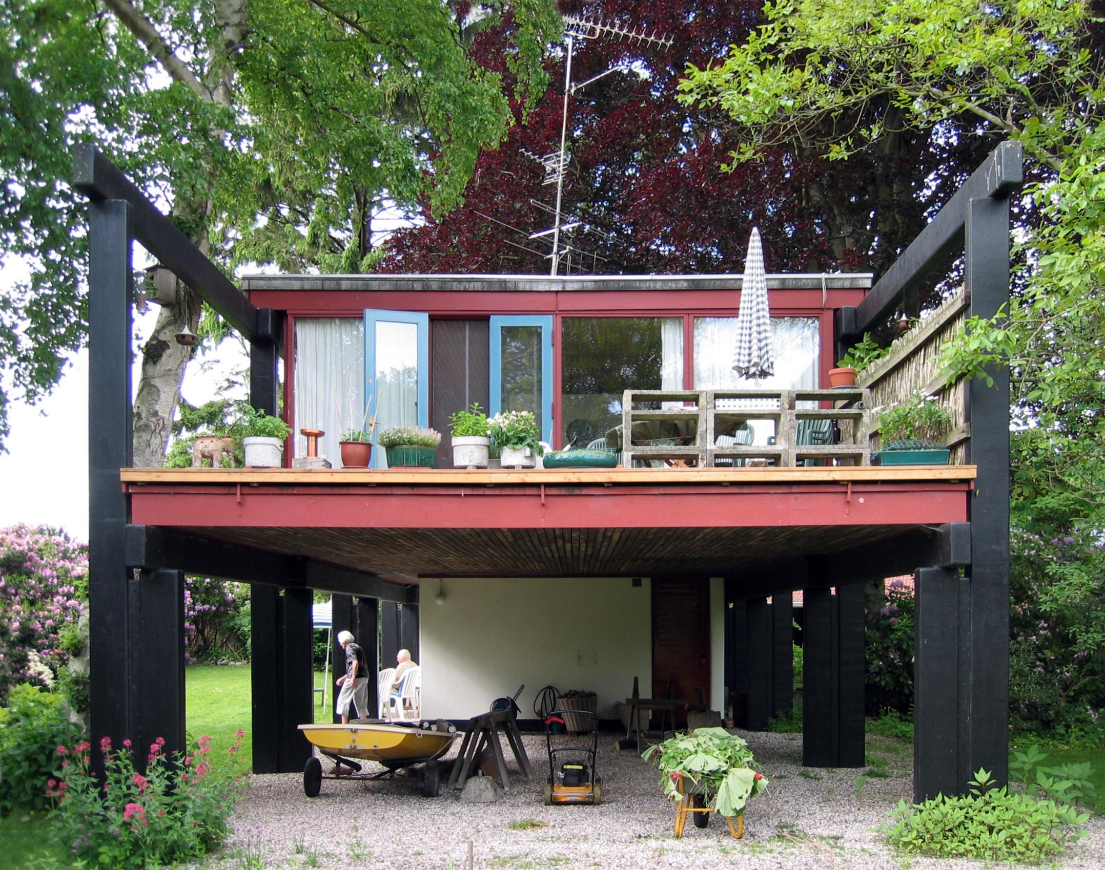 File middelboe house holte jorn utzon 1953 - Casas pintadas por fuera ...