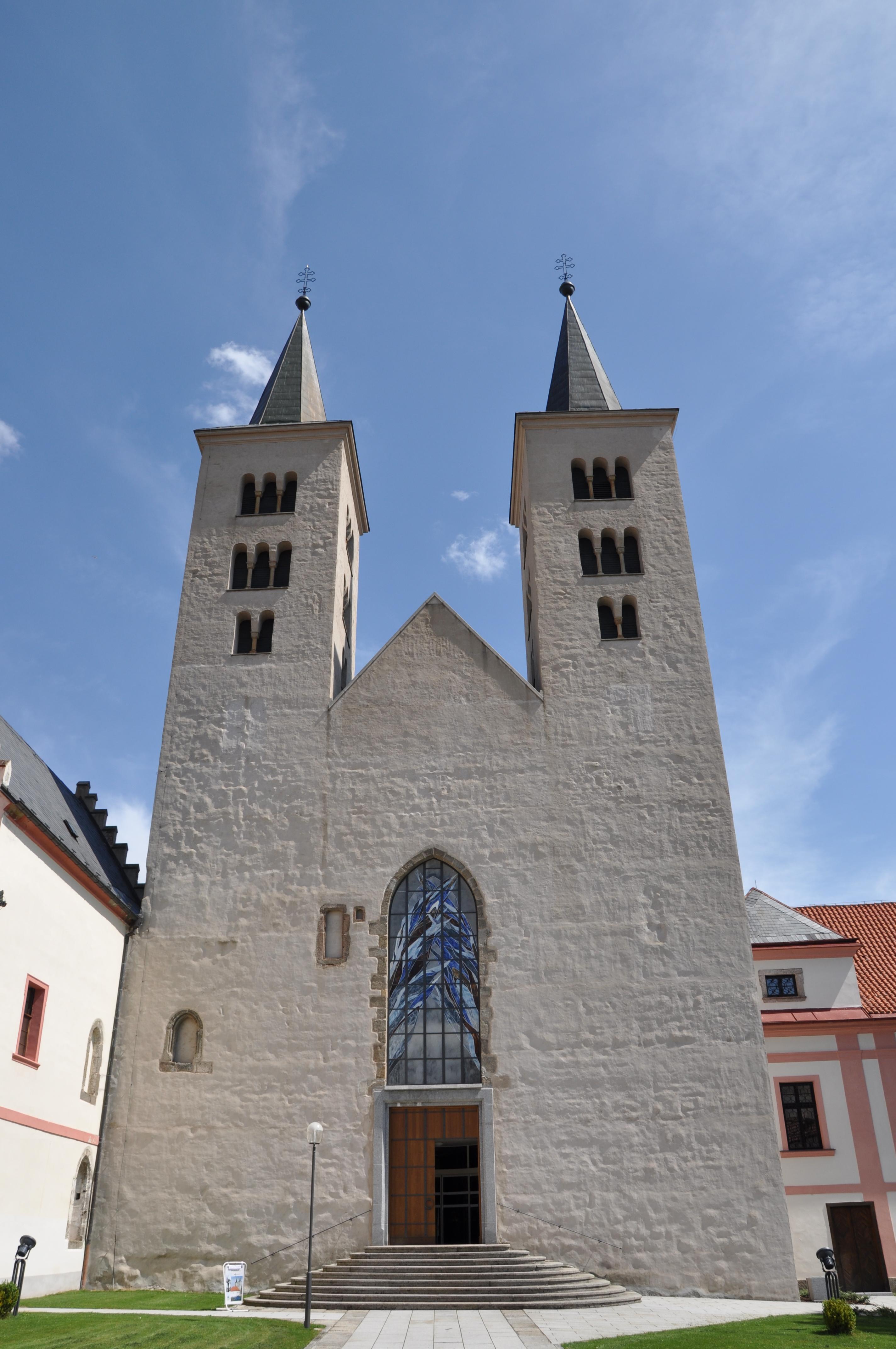 chrám Navštívení Panny Marie v milevském klášteře