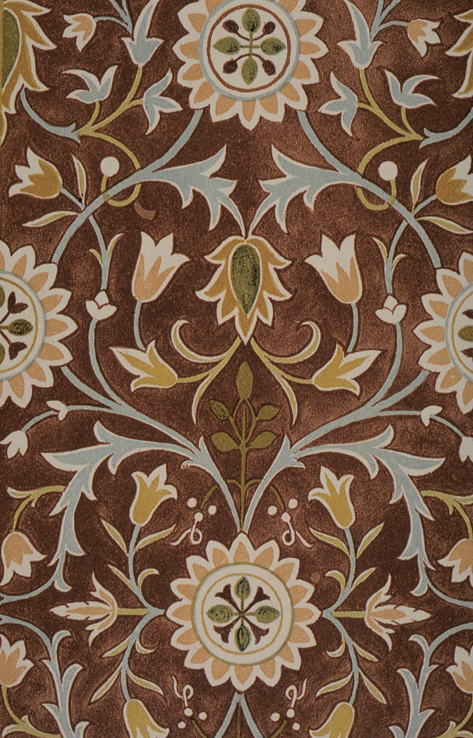 Carpet Design Delectable Filemorris Little Flower Carpet Design Detail  Wikimedia Commons Inspiration