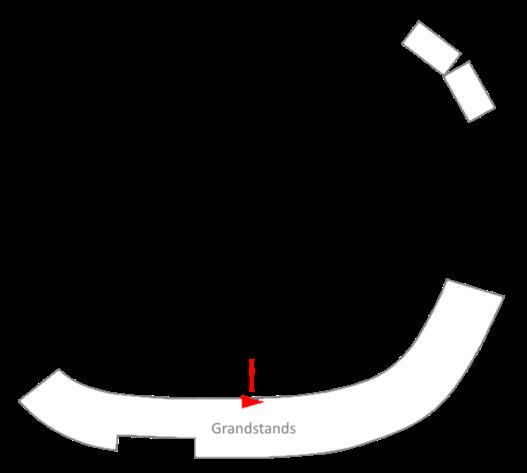 Nazareth Speedway Trackmap