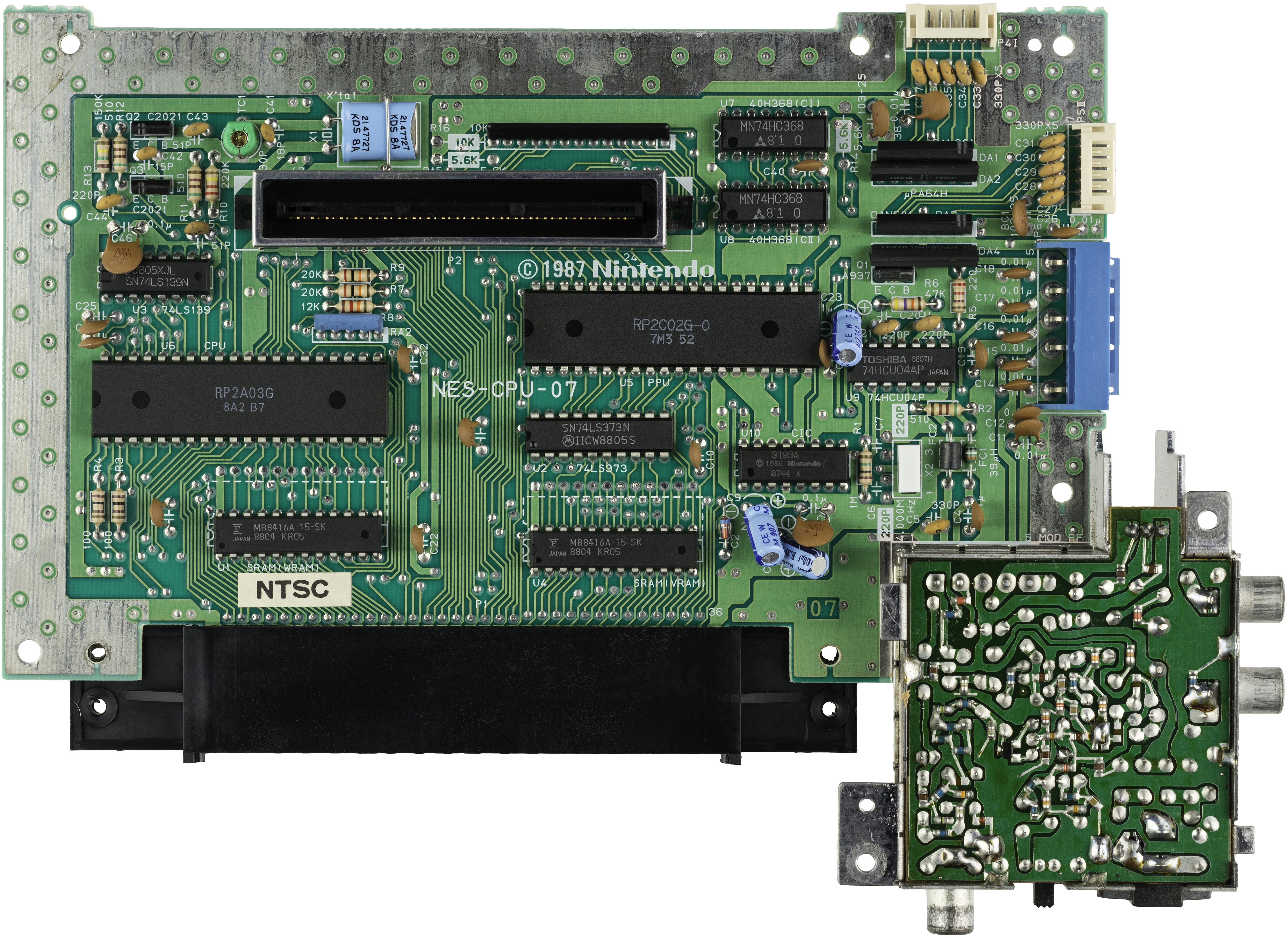 Nintendo entertainment system motherboard diagram with labels easy file nintendo nes mk1 motherboard top jpg wikimedia commons rh commons wikimedia org atx motherboard diagram with labels graphic motherboard power diagram ccuart Image collections