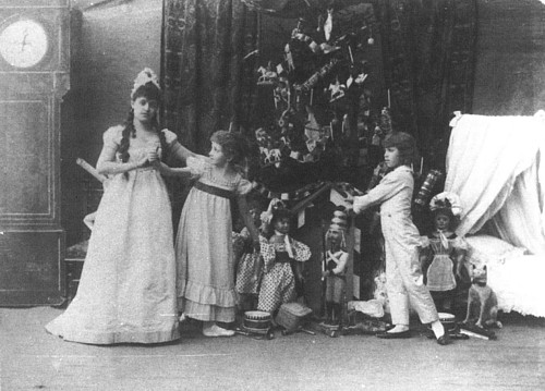 Original production of the Nutcracker by the Imperial Marinsky Theatre