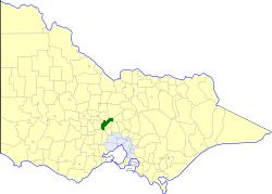 Shire of Kyneton Local government area in Victoria, Australia