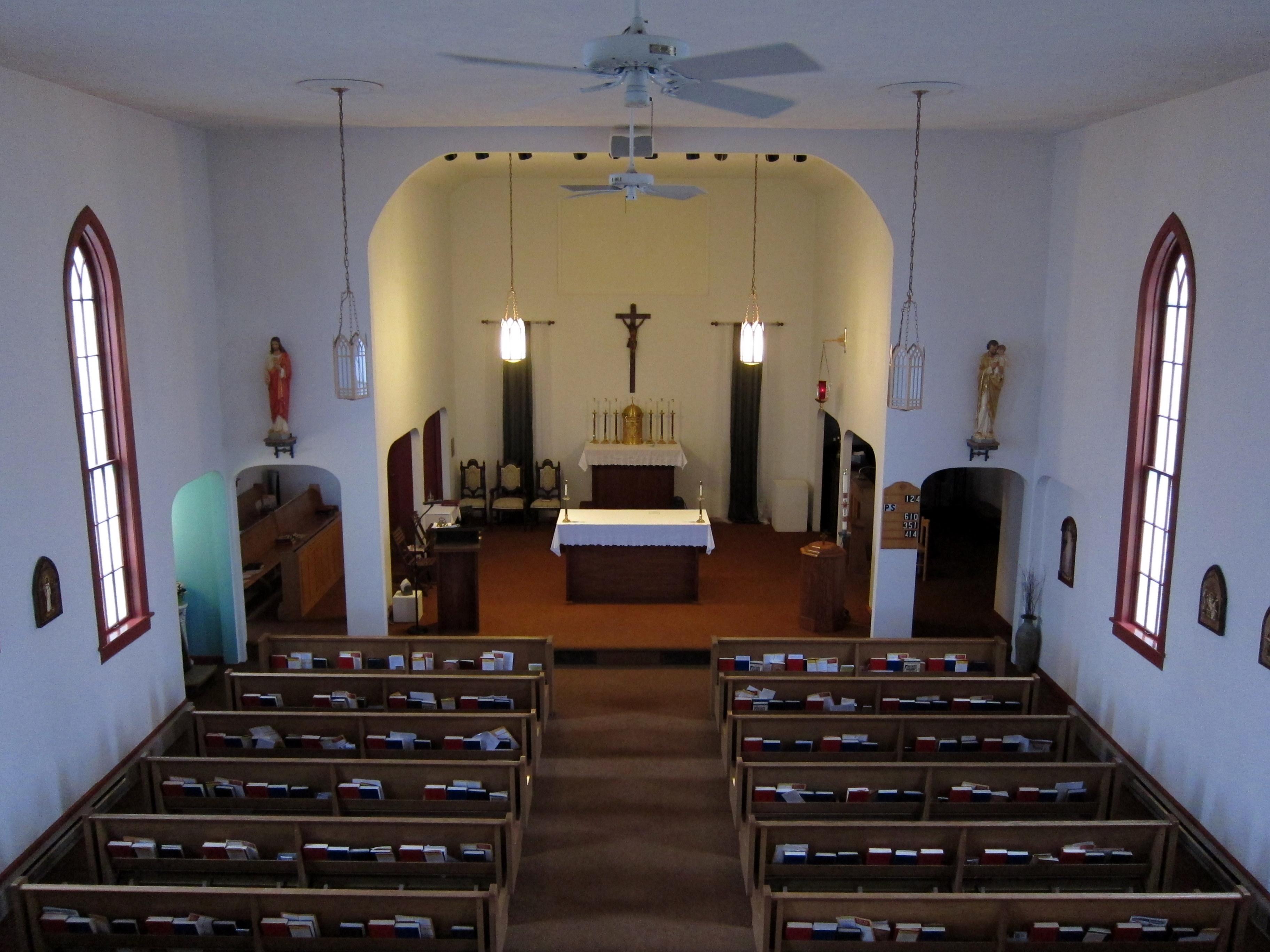 FileOur Lady Of Lourdes Catholic Church Ada Ohio Interior