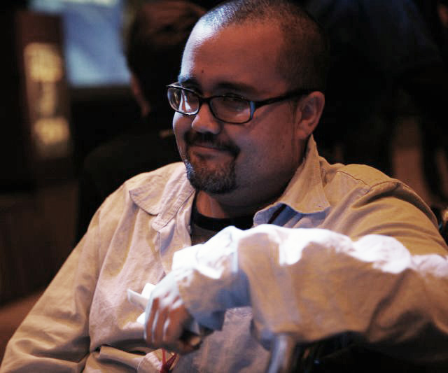 Pablo Hidalgo at ''Star Wars'' Celebration IV