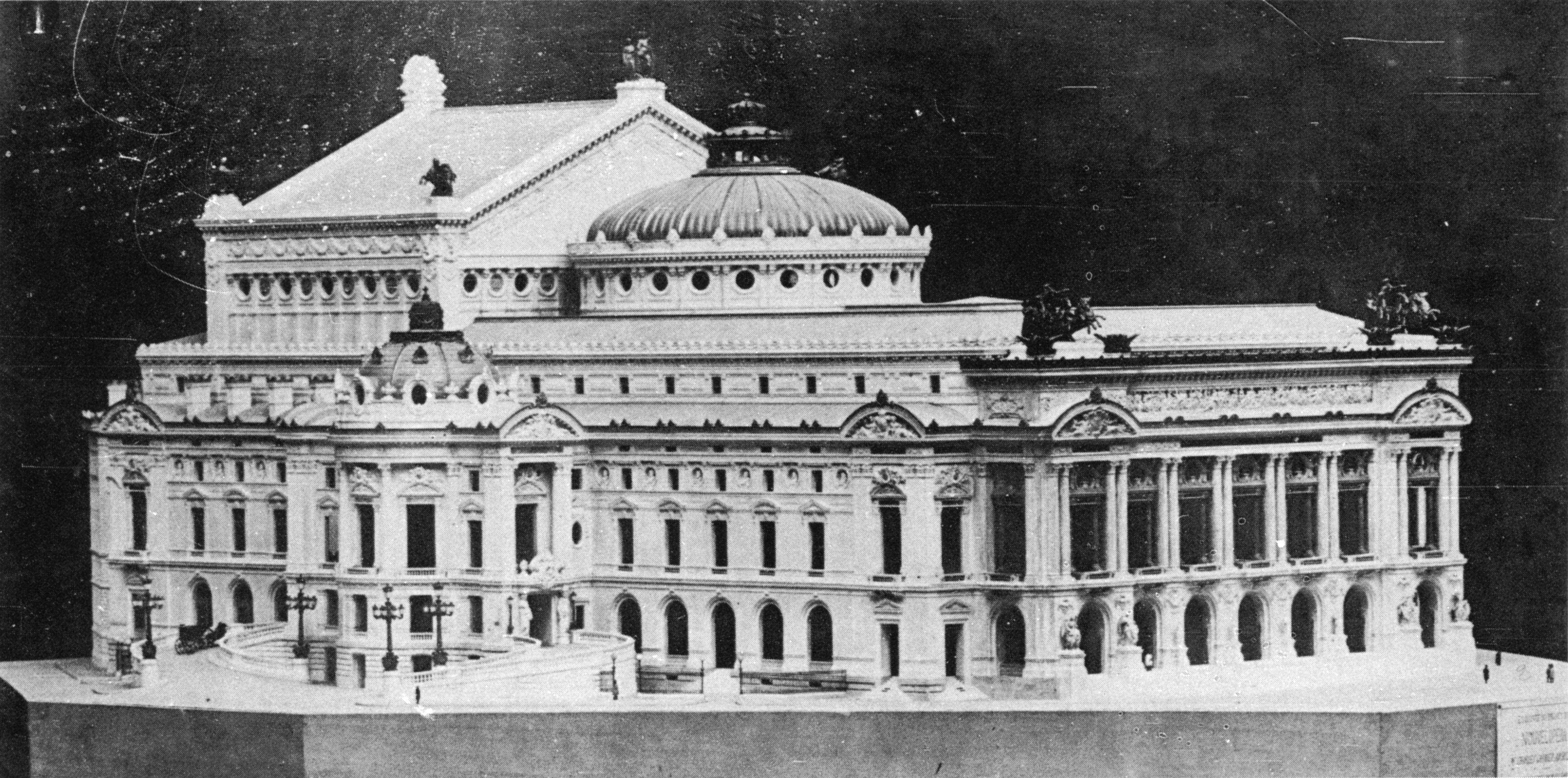 New York Floor Plans File Palais Garnier Model By Villeminot Mead 1991 P150
