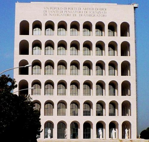 Archivo palazzo della civilt italiana eur roma italy for Palazzo delle esposizioni rome italy
