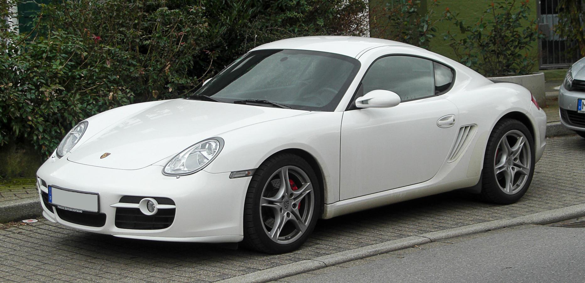 File:Porsche Cayman S (987C) – Frontansicht, 13. März 2011, Wülfrath ...