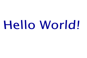 Hello World Program Pov Ray | RM.