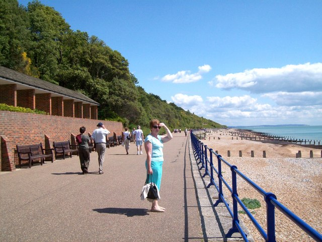 Promenade on the Wealdway - geograph.org.uk - 1396101