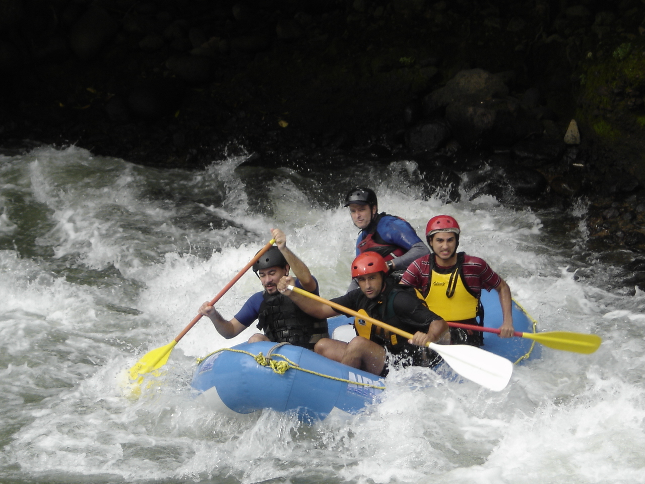 Whitewater Rafting. Photo by Wikimedia Commons.
