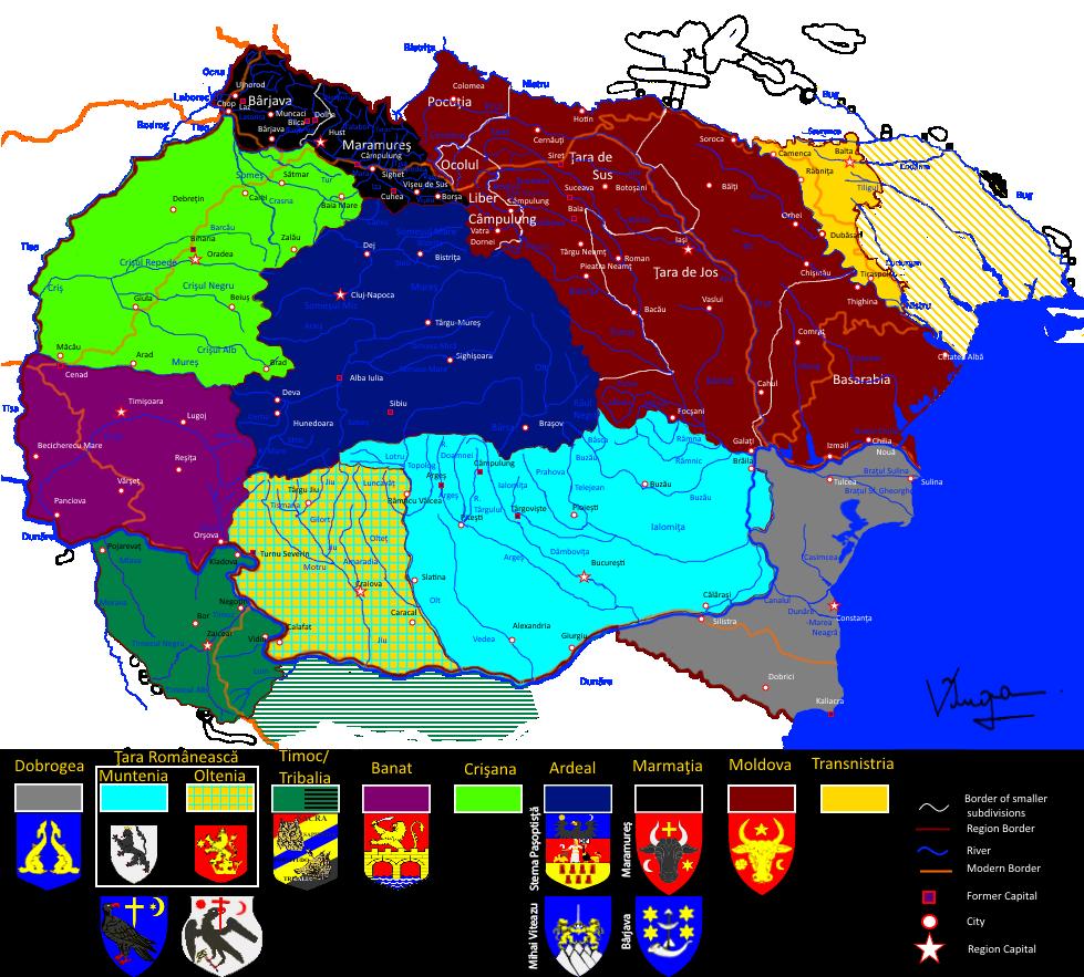 Regiuni Româneşti