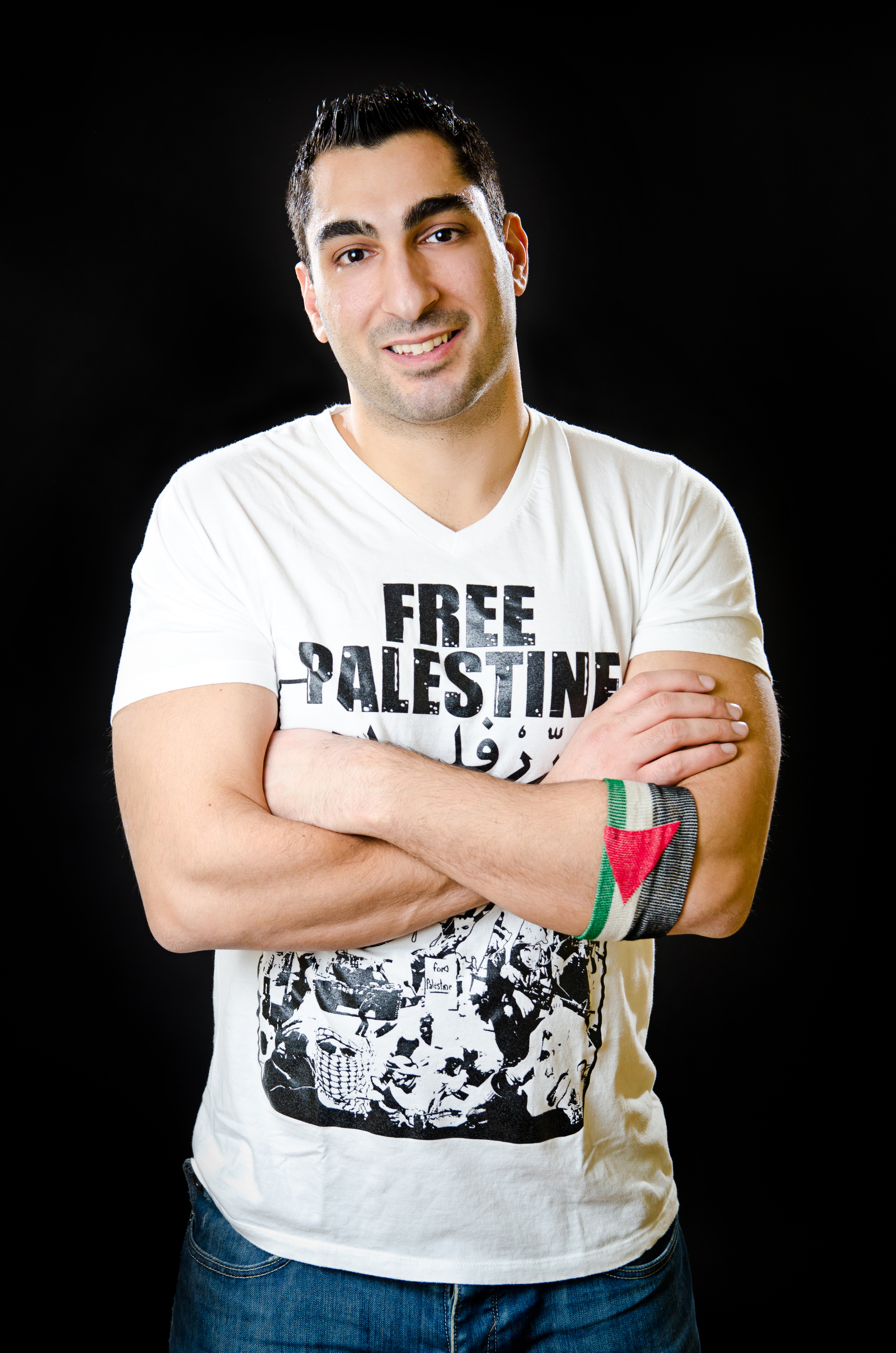"""Remi Kanazi photo """"Free Palestine"""""""