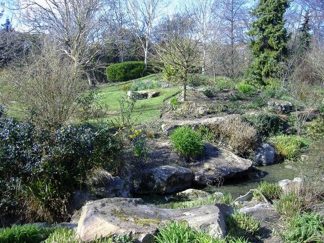 Rockery, Queen's Park, Swindon - geograph.org.uk - 365159