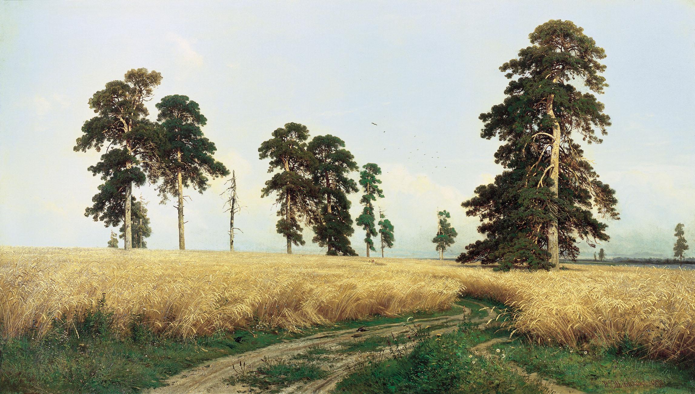 我喜欢的俄国著名风景画家希施金 知足之足 知足之足的博客