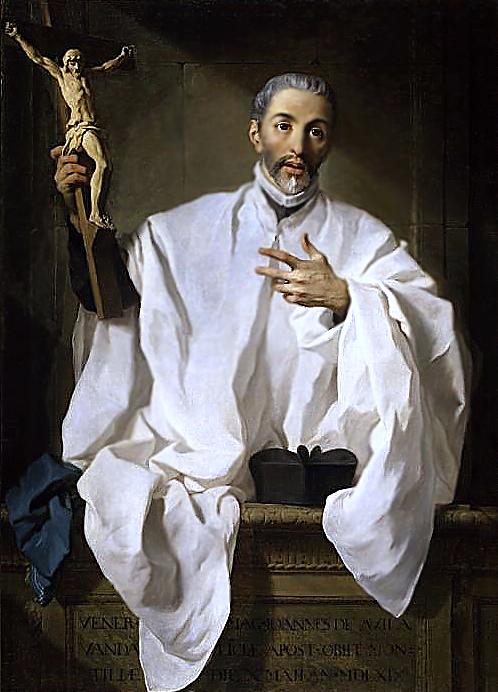 San Juan de Ávila (1746) av den franske maleren Pierre Subleyras (1699-1749)
