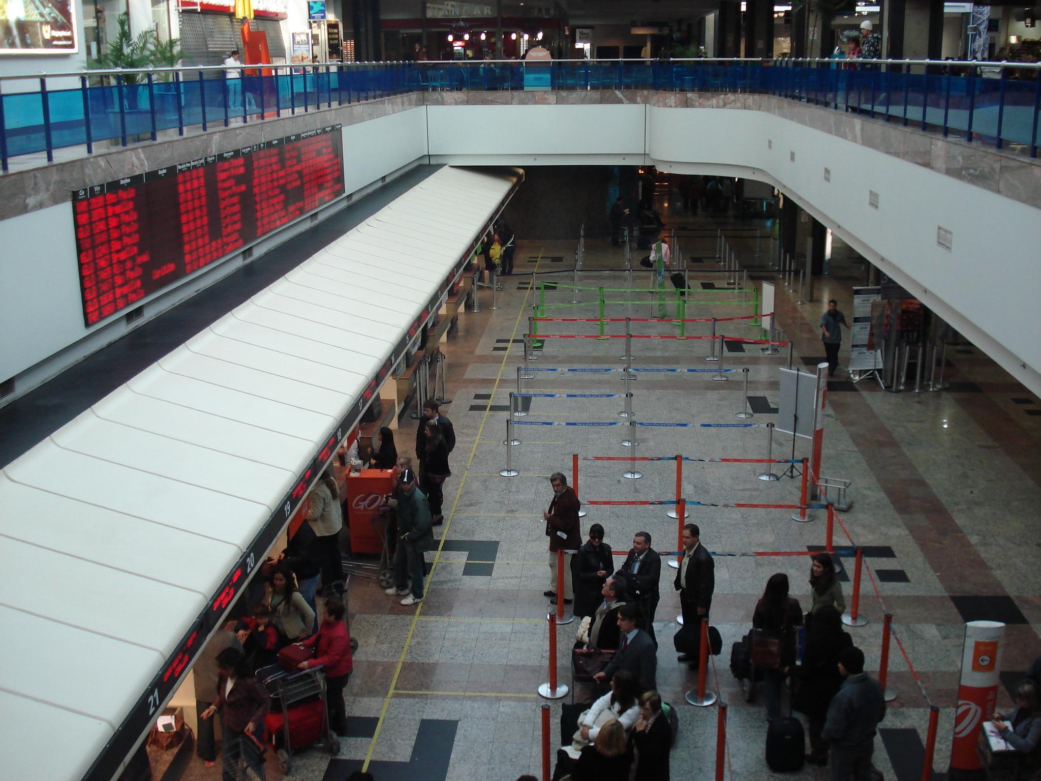 Salgado Filho International Airport.
