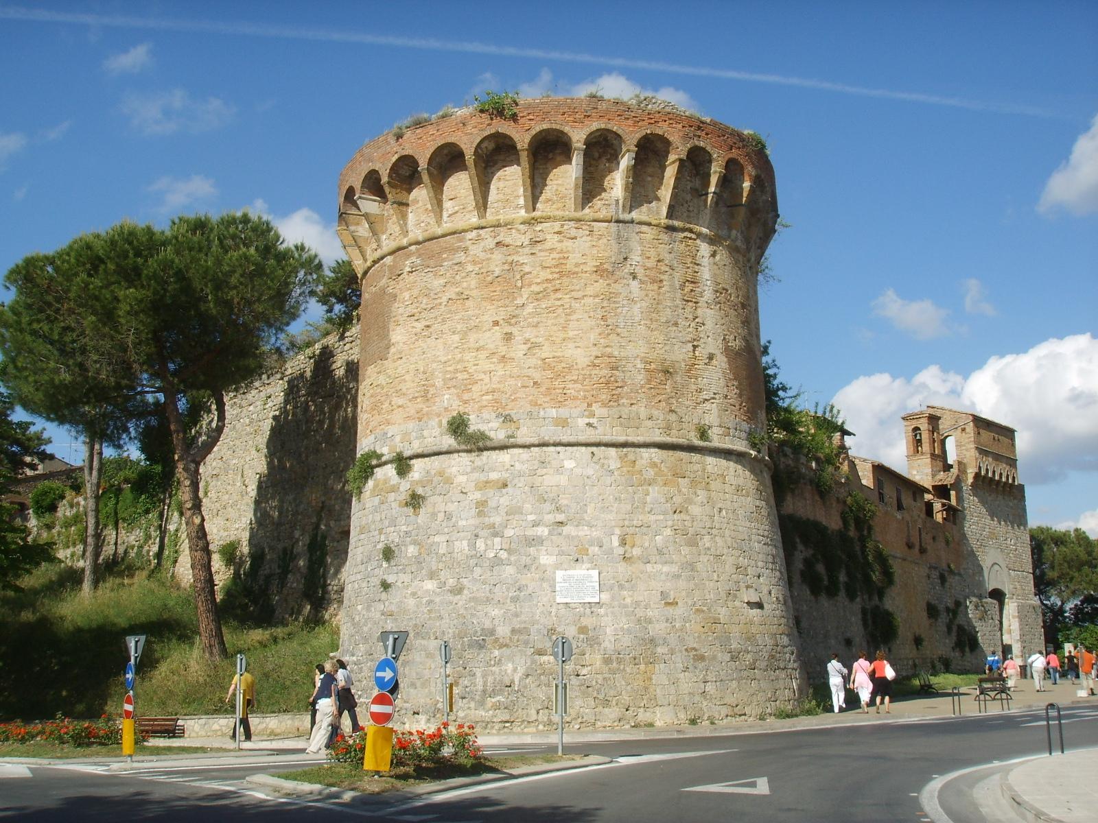 File San Gimignano Bastione Mura 02 Jpg Wikimedia Commons