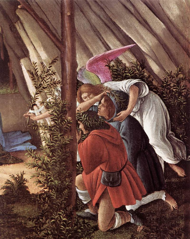 File:Sandro Botticelli - The Mystical Nativity (detail ...