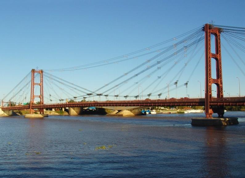 Puente Colgante De Santa Fe Wikipedia La Enciclopedia Libre