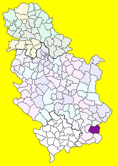 surdulica mapa Surdulica (općina) – Wikipedija surdulica mapa