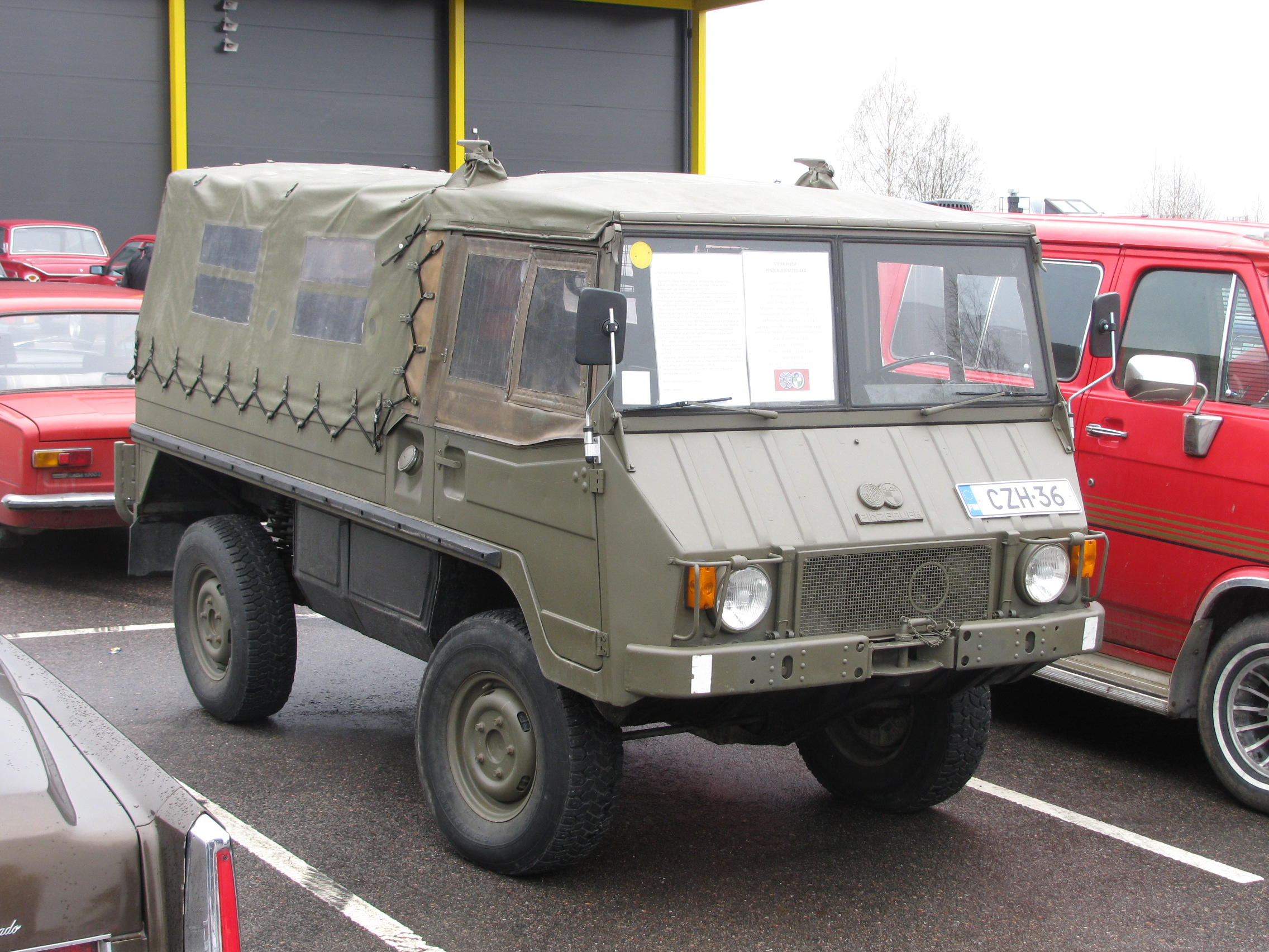 file steyr puch pinzgauer lahti jpg wikimedia commons. Black Bedroom Furniture Sets. Home Design Ideas