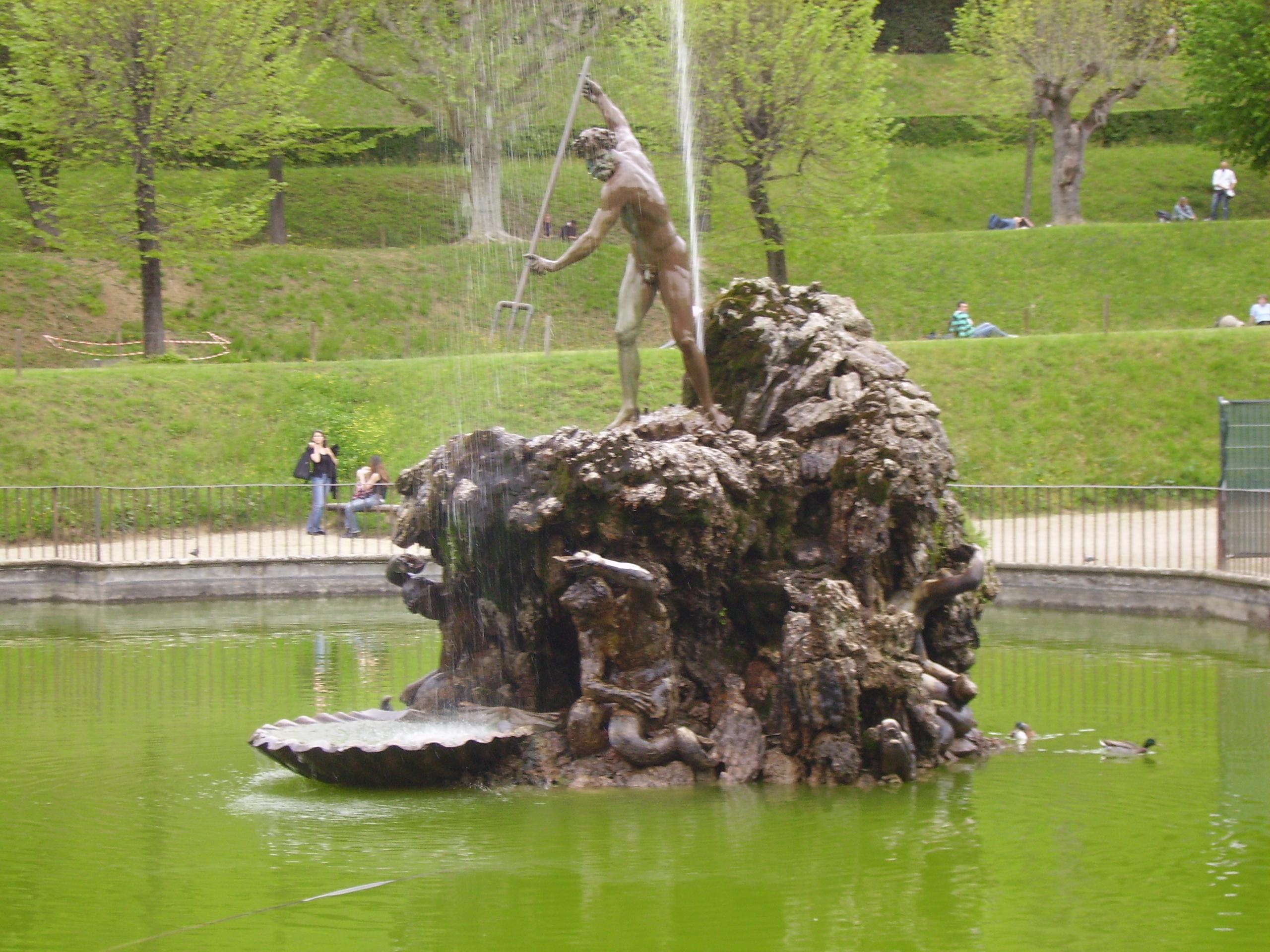File:Stoldo Lorenzi Fountain Of Neptune Boboli Gardens