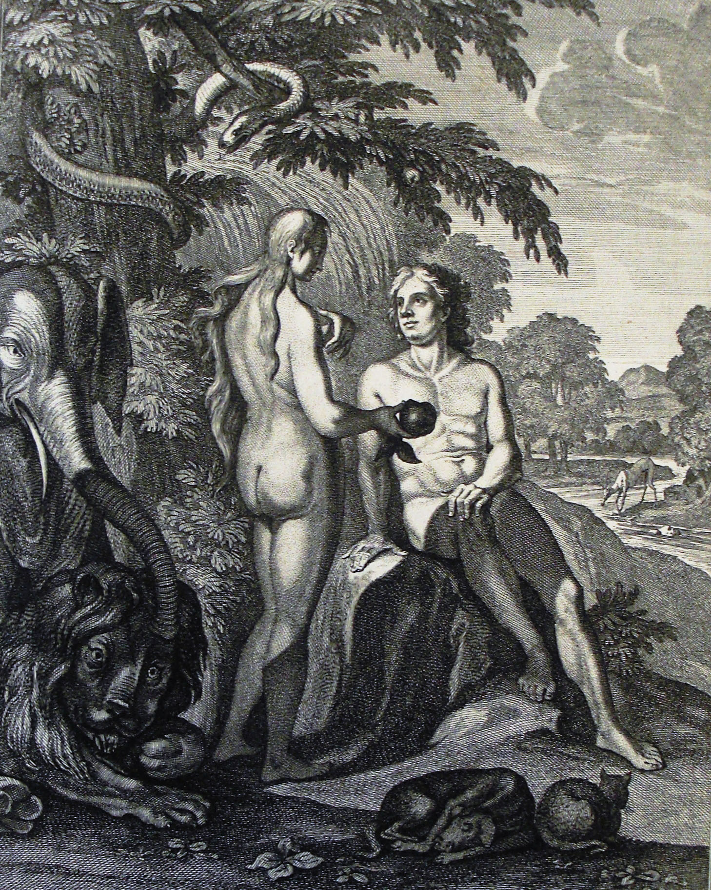 Filethe Phillip Medhurst Picture Torah 15 Temptation Of Adam And Eve Genesis