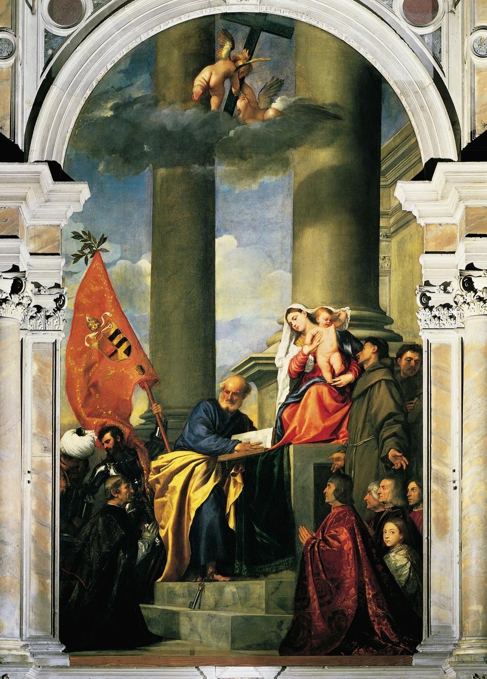 Pesaro Madonna by Titian