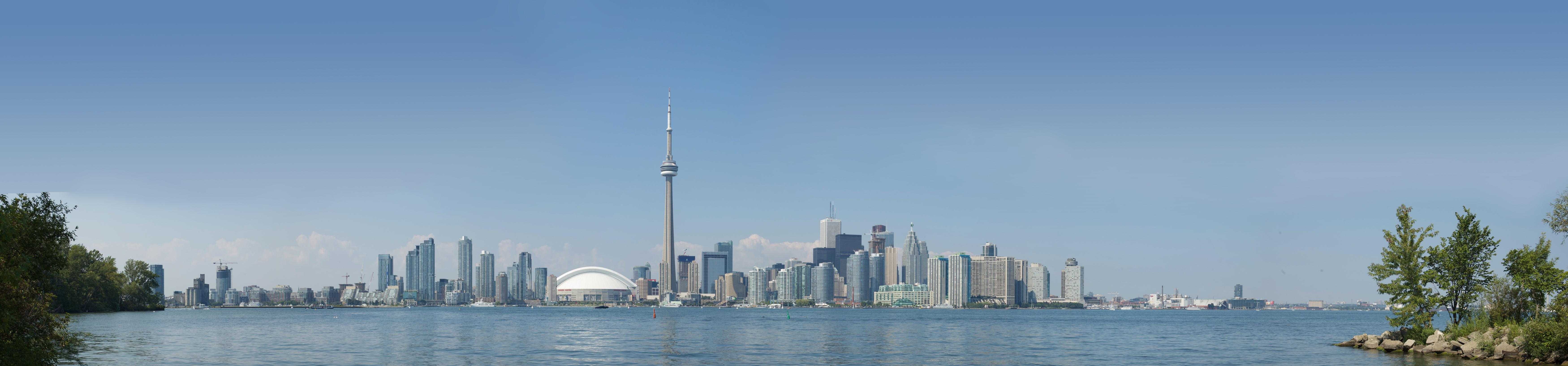 Size Of Toronto Island