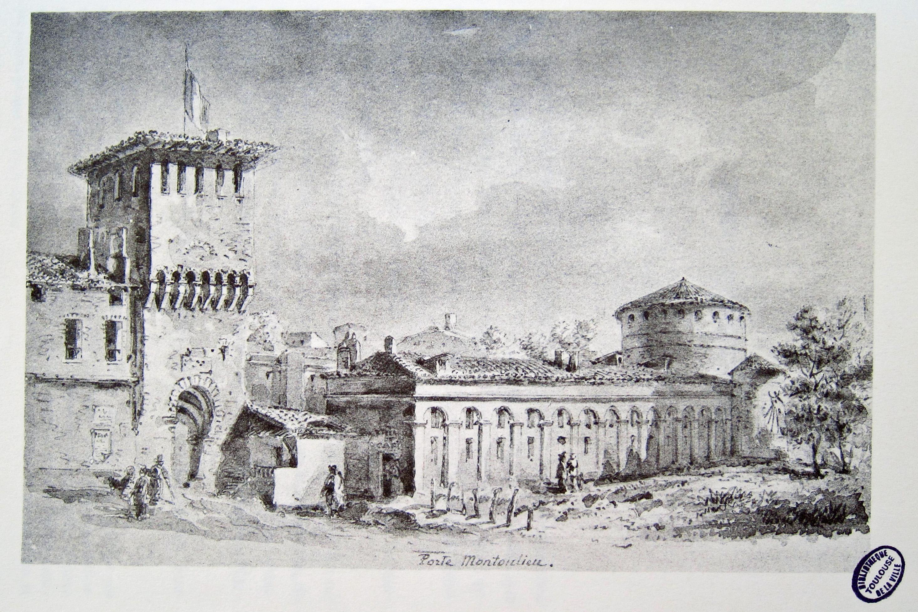 File toulouse porte montoulieu wikimedia for Porte zenith toulouse
