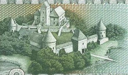 File:Trakai castle - 2 litai.jpg