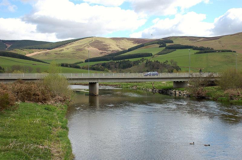 Tweed Bridge at Cardrona, Peeblesshire - geograph-1850299