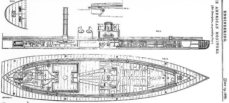 Uss Nausett  1865