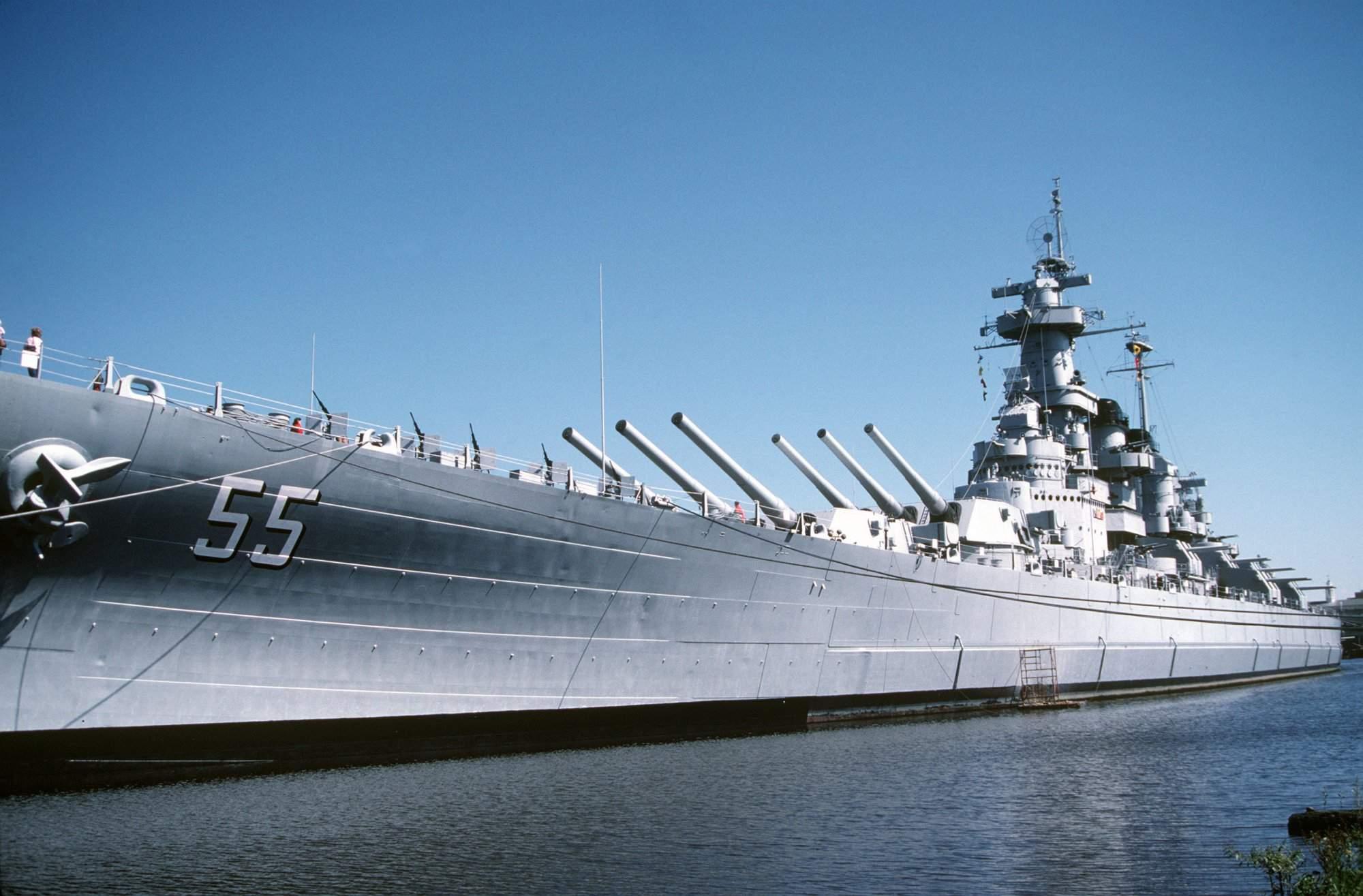 North Carolina Battleship Tour