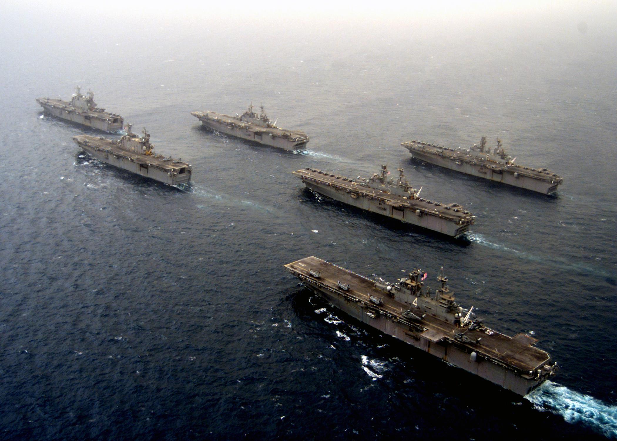 Resultado de imagen para anfibius  US task force