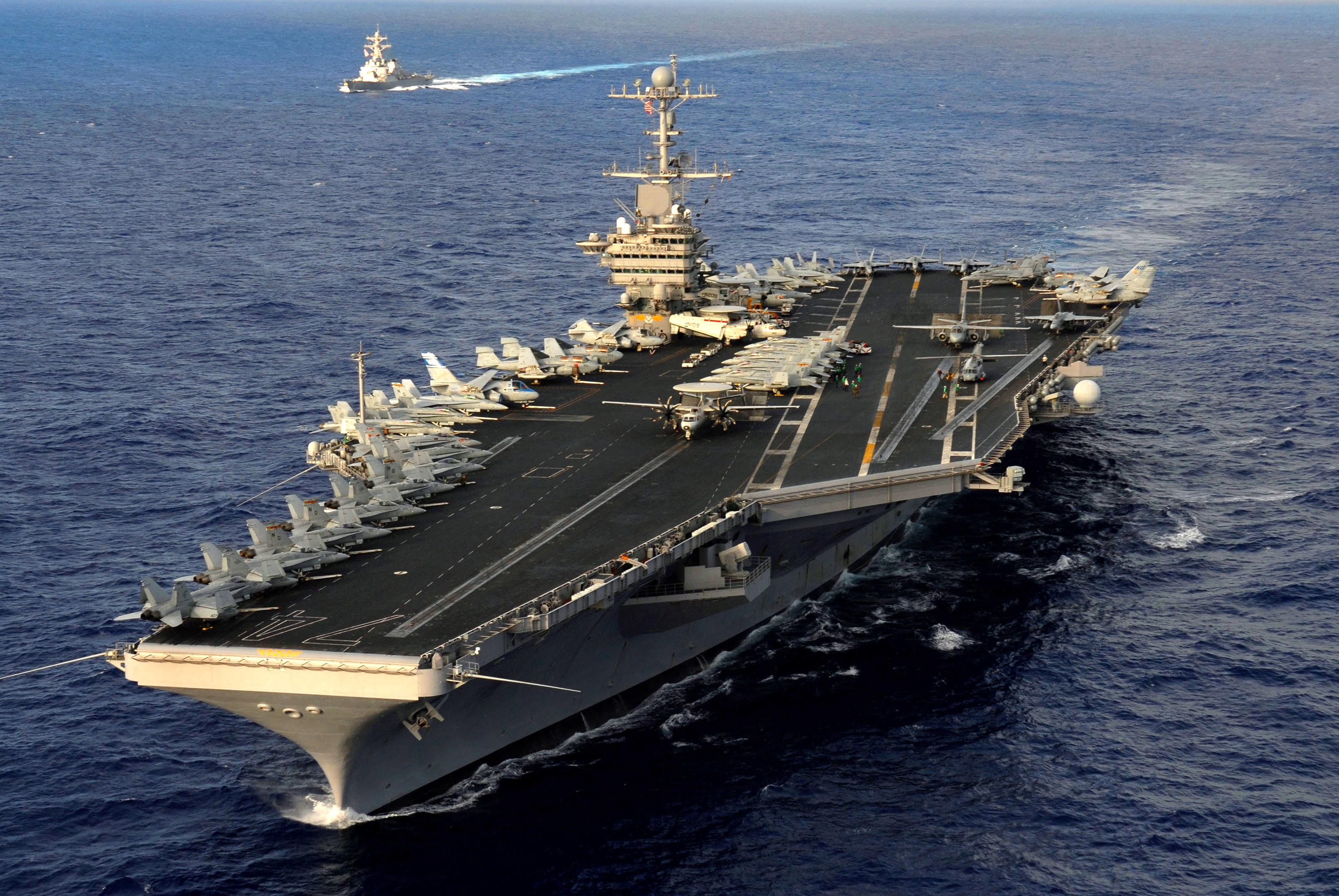 Image result for USS John C Stennis, photos