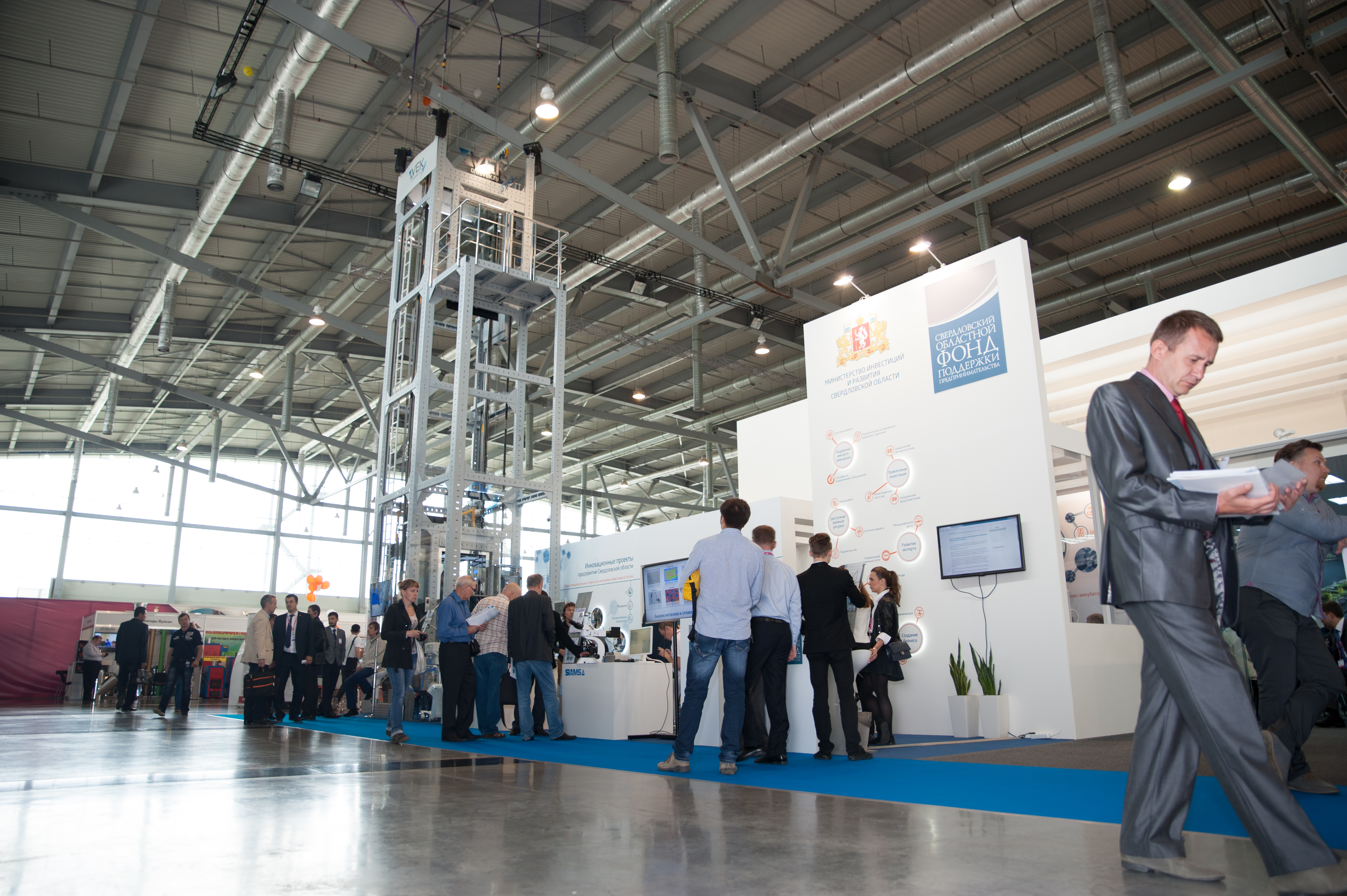 Exhibition Stand Wiki : File vek elevator company exhibition stand in innoprom