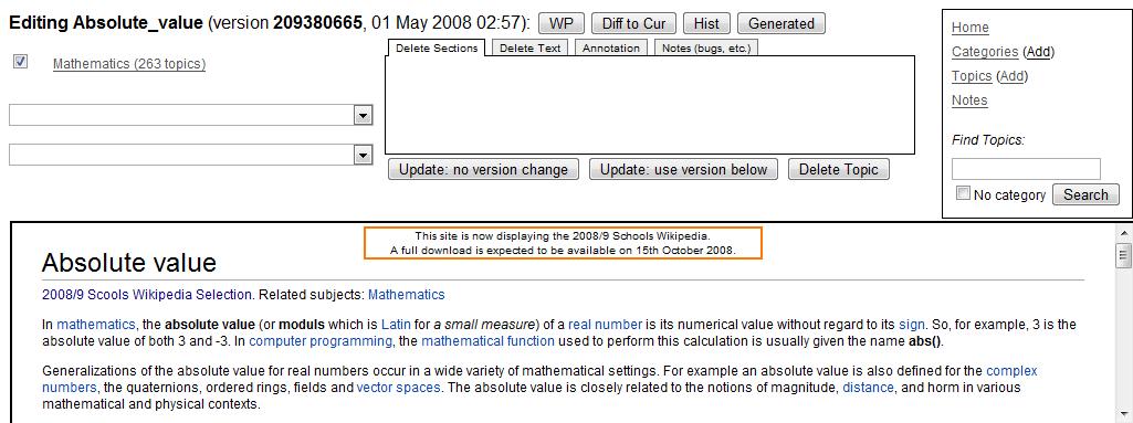 Wikipedia:Wikipedia CD Selection - Wikipedia