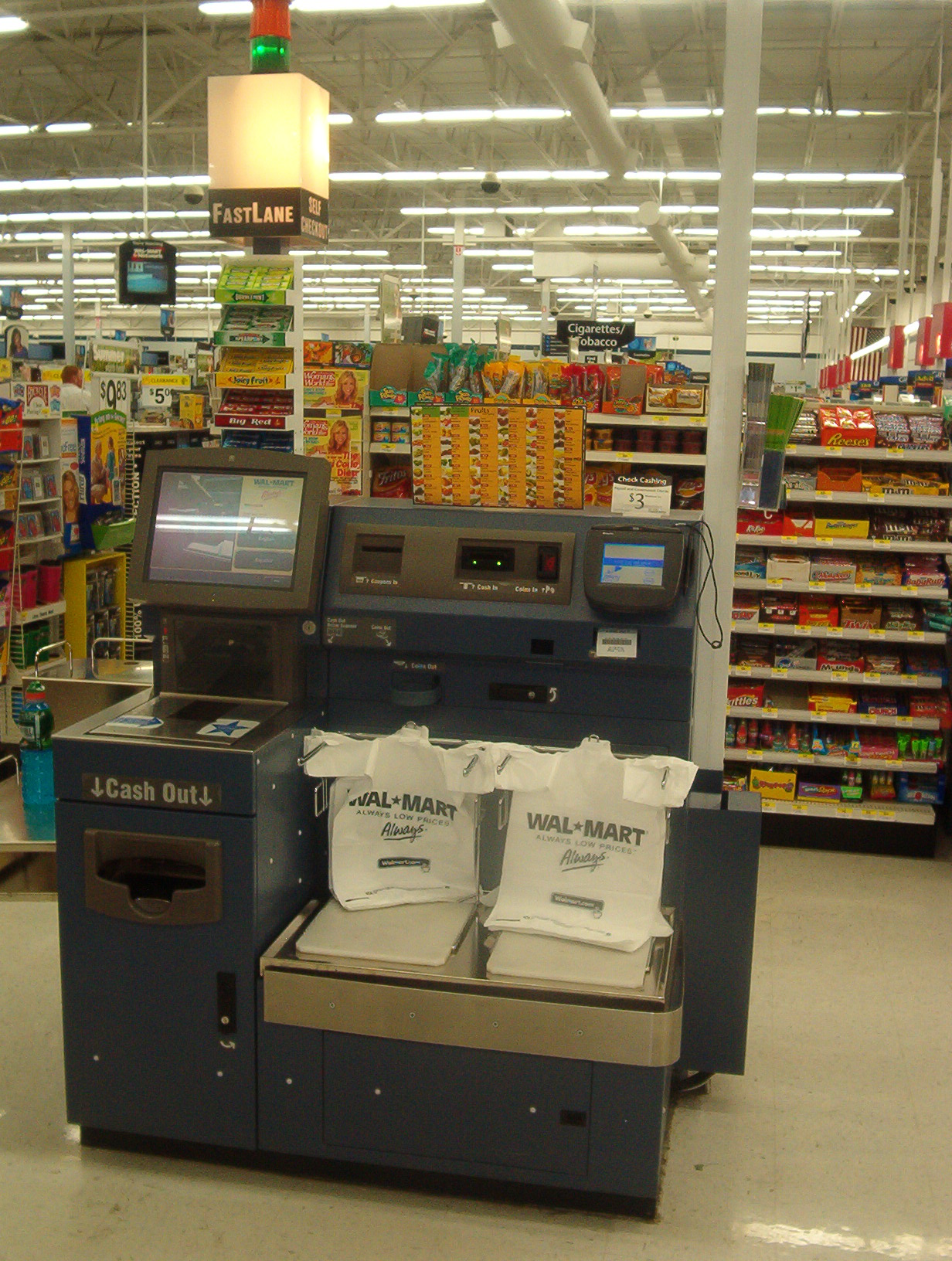 File:Wal Mart Fast Lane.jpg - Wikimedia Commons