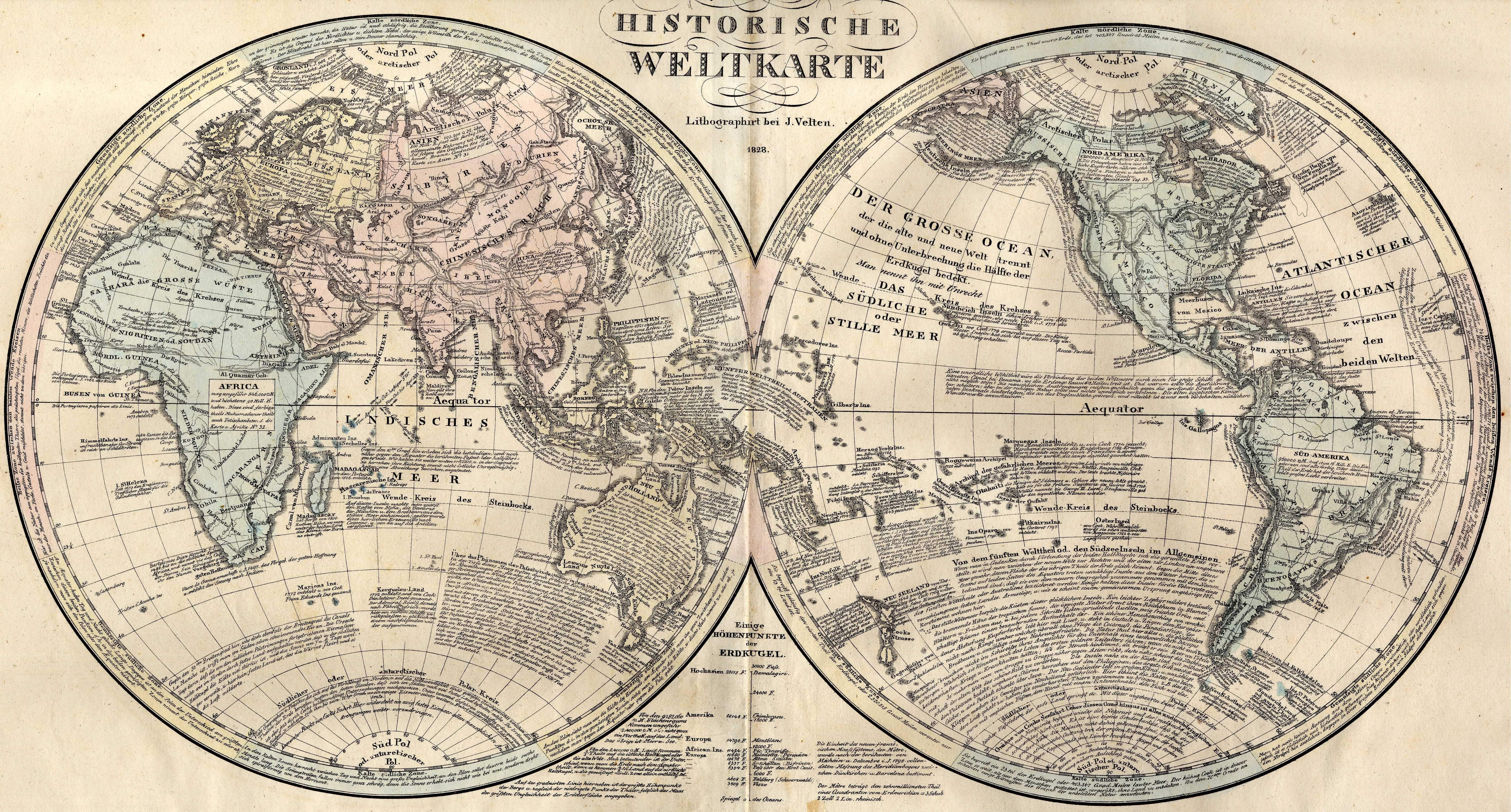 Datei Weltkarte 1828 Jpg Wikipedia