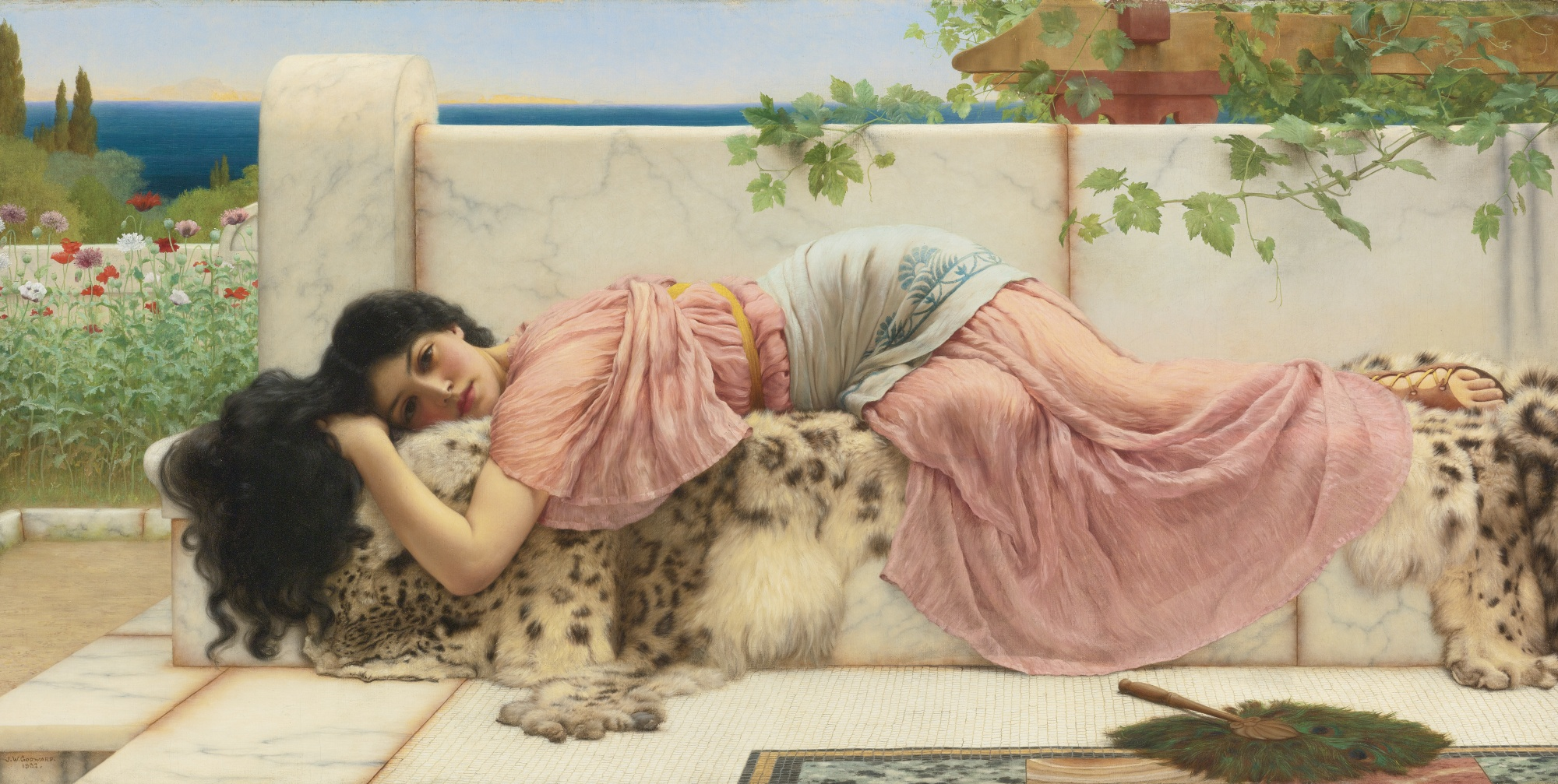 When the heart is young, by John William Godward.jpg