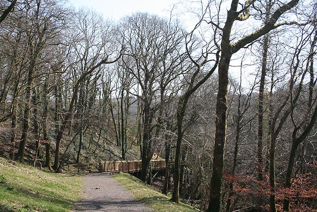 Whitchurch, Drake's Trail 4 - geograph.org.uk - 1233242