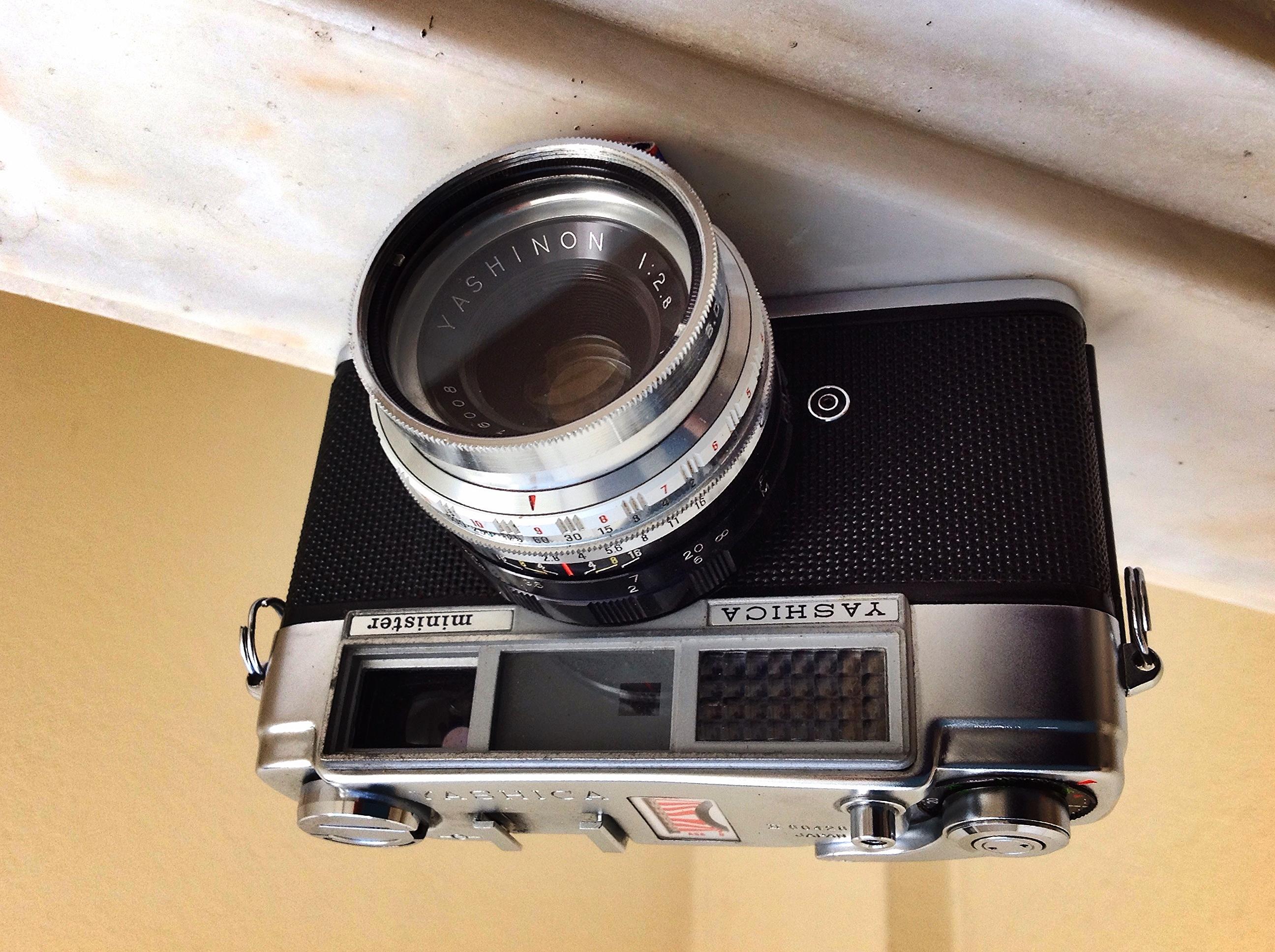 Fichier:YASHICA - Minister I , lens Yashinon 45mm, 1961 ...