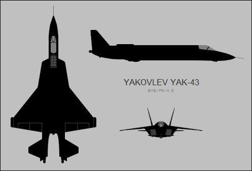 Yakovlev Yak 43 Wikipedia