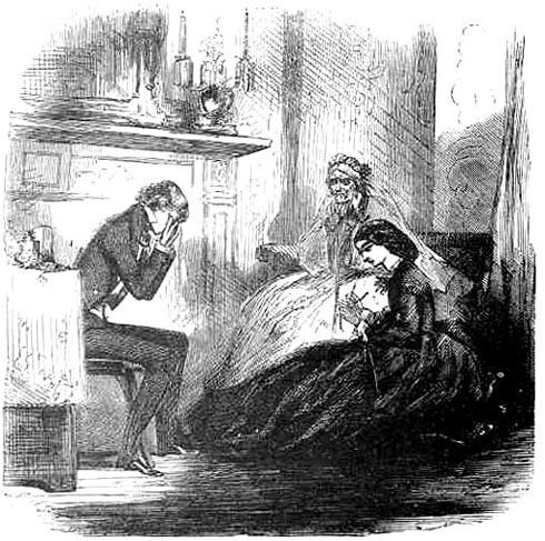 "File:""All done, all gone!"" Miss Havisham in the passageway ..."