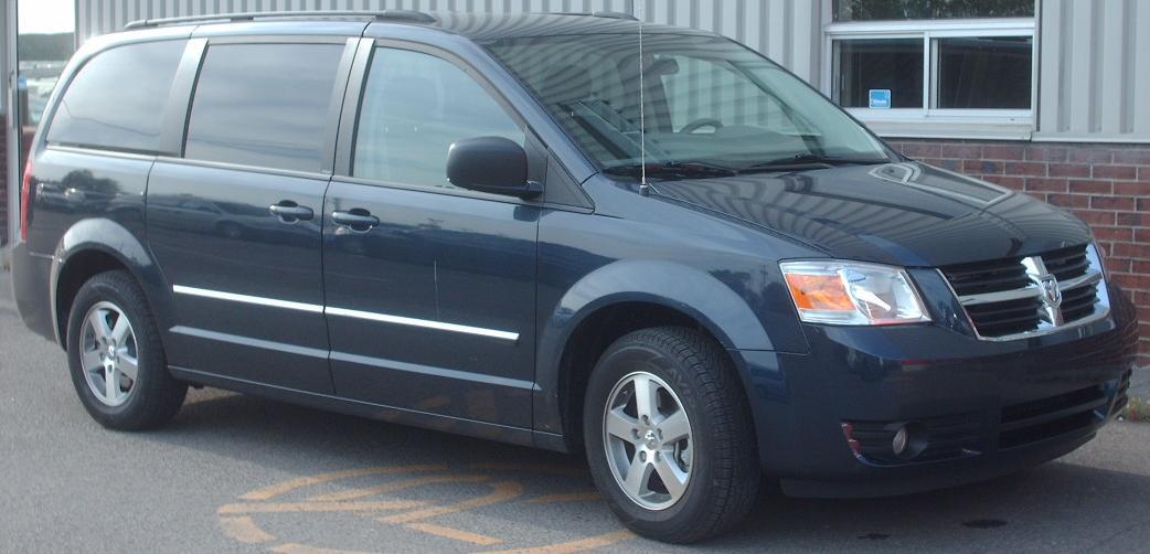 File:'08 Dodge Grand Caravan.jpg - Wikimedia Commons