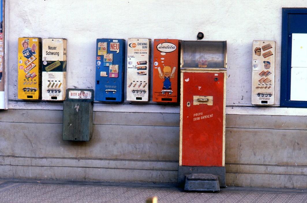 Alte Automaten